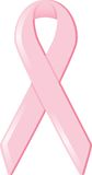 Pink Awareness Ribbon Stock Photography