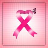 Pink awareness ribbon Royalty Free Stock Photos