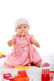Pink baby Stock Photos