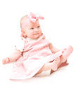Pink baby Stock Photography