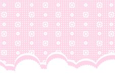 Pink baby background Stock Images