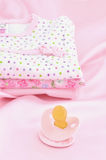 Pink Baby Clothes Stock Photography