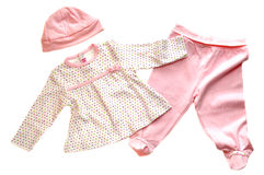 Pink Baby Clothes Stock Photos