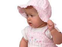 Pink baby doll Royalty Free Stock Photos