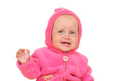 Pink baby girl Royalty Free Stock Photography