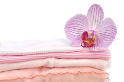 Pink Baby Laundry Stock Photos