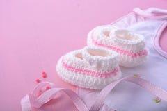 Free Pink Baby Shower Nursery Background Stock Photo - 75512280