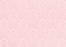 Pink background. A pink and female decorated background. There is also the blue version Stock Images