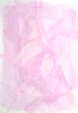 Pink background. A pink background made with watercolors Royalty Free Stock Photos
