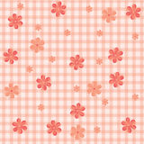 Pink_background Fotografie Stock