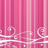 Pink background royalty free illustration