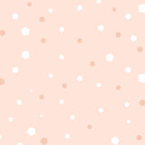 Pink background,colorful pentagon on pink background Royalty Free Stock Photos