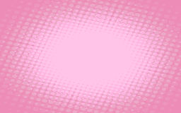Pink background with dots Stock Photography