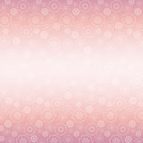 Pink background of flowers, vector stock photo