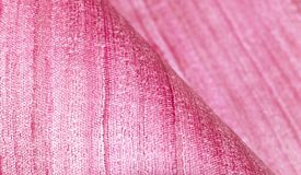 Pink background with foldings Stock Image