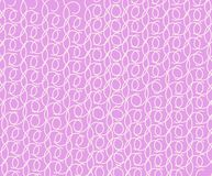 Pink background with a graceful pattern. Background of pink color with graceful figure from spirals Stock Photo
