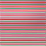 Pink background with green and red bulging lines.  Royalty Free Stock Images