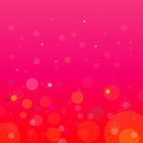 Pink background. Illustration pink background with flares Royalty Free Stock Images