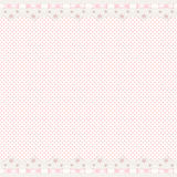 Pink background with lace border Stock Photos
