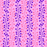 Dot Links Seamless Background. Pink background with linked dots seamless pattern Royalty Free Stock Photography