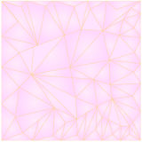 Pink Background low poly polygon triangles vector illustration