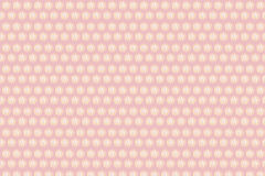 Pink background,pattern of circle light on pink background Stock Photos