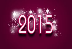 2015 pink background. Pink background with pf 2015 Stock Image