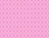 Pink background / seamless pattern Stock Image