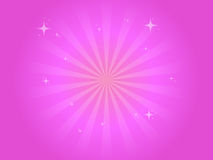 Pink background with stars Royalty Free Stock Photo