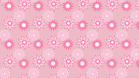 Pink background with stars. For a nice wallpaper or for some girls designs Stock Photos