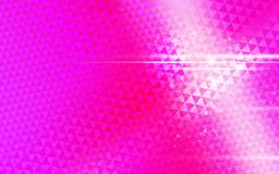 Pink background triangle