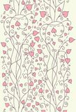 Pink background for valentine day card vector Royalty Free Stock Photos