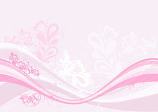 Pink background, vector Stock Images