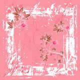 Pink background, vector Royalty Free Stock Images