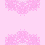 Pink background. Vector illustration. Arabic abstract floral pattern on pink background. Vector illustration vector illustration