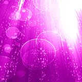 Pink background. Vivid pink background with some blurred lights in it vector illustration