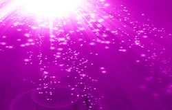 Pink background. Vivid pink background with some blurred lights in it Royalty Free Stock Photos