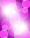 Pink background. Vivid pink background with some blurred lights in it royalty free illustration