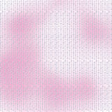 Pink background with white beautiful pearls Royalty Free Stock Photos