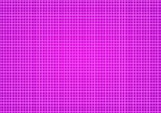 Pink Squares background template. Pink background with white lines forming squares or checkers Royalty Free Stock Images