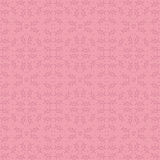 Pink backgrounds with seamless patterns. Ideal for printing. Onto fabric and paper or scrap booking. Vector illustration Royalty Free Illustration