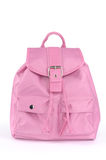 Pink Backpack Royalty Free Stock Photography