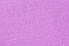 Pink backround - Linen Canvas - Stock Photo Stock Image