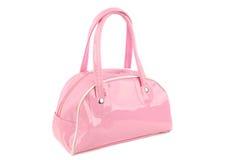 Pink bag. Royalty Free Stock Photo