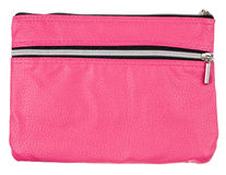 Pink bag isolated on white Royalty Free Stock Photo