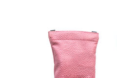 Pink bag isolated Royalty Free Stock Photos