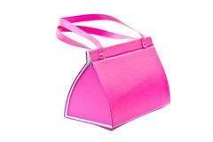 Pink bag Royalty Free Stock Photo