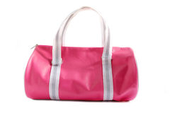 This is a pink bag. Royalty Free Stock Images