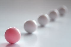 Pink Ball Royalty Free Stock Photo