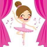 Pink Ballerina Tutu Dancer royalty free illustration